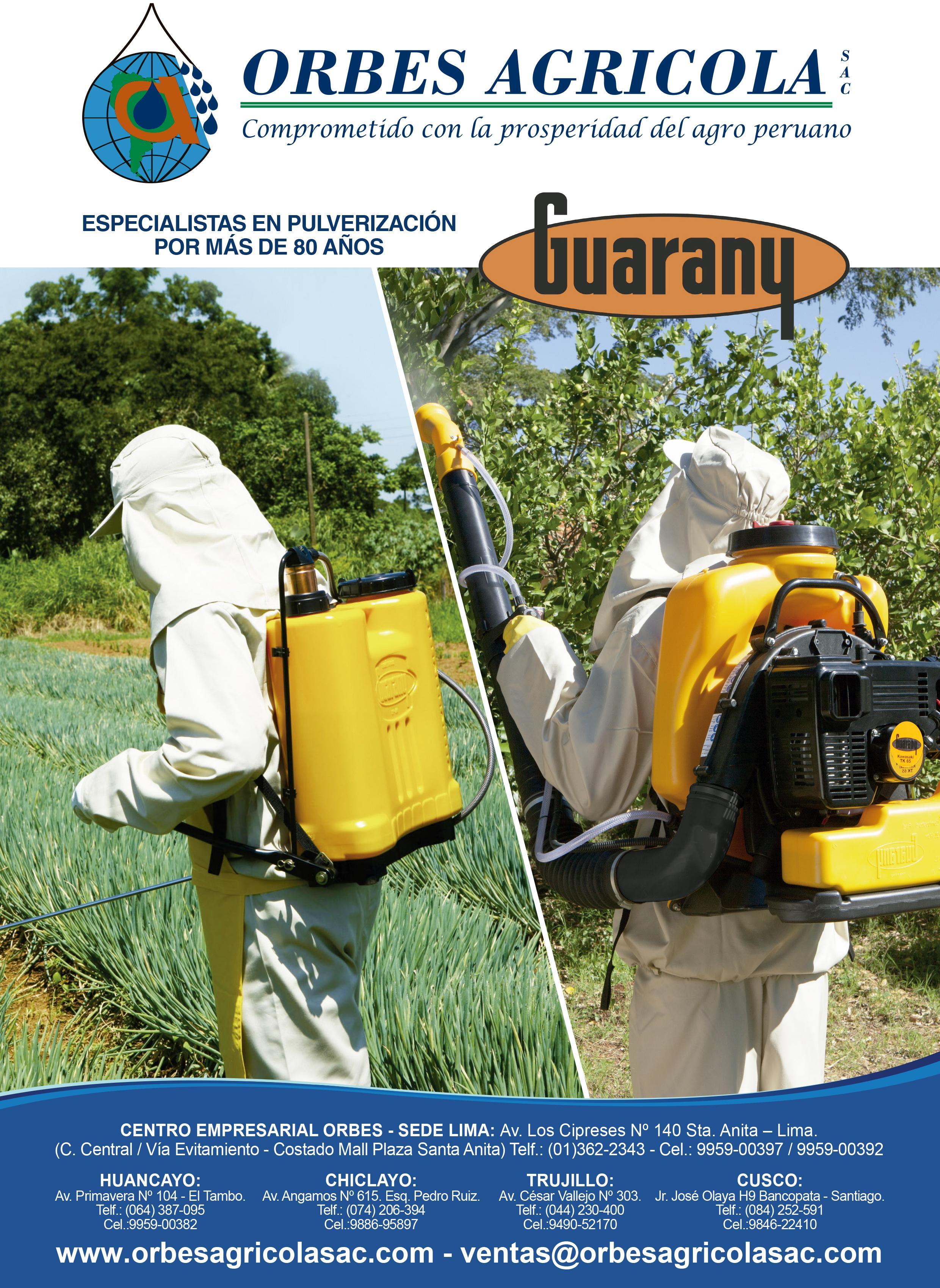 Catalogo de Pulverizadoras Guarany