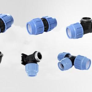 Fittings de Compresión HDPE
